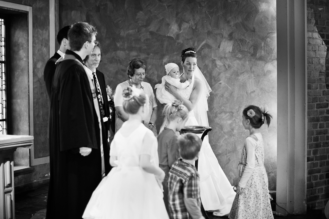 Taufe und Hochzeit in einem