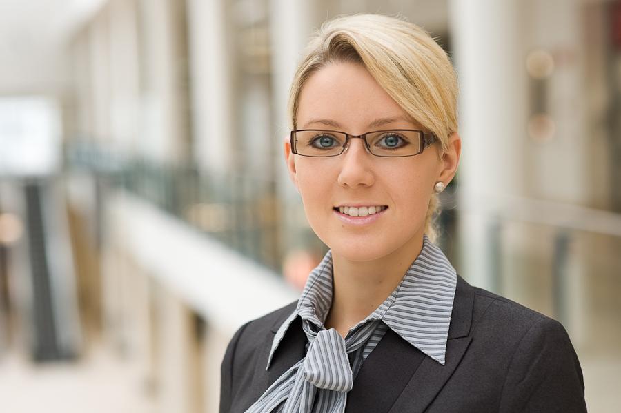 Bewerbungsfotos in Bremen - Bild einer Frau - Kalu Bremen